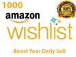 Create 1000 Keyword Searchable Unique  Amazon Wishlist