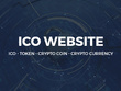 ICO countdown website full service with Content and Roadmap