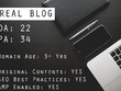 Publish your article on my general blog SeenThing.com (DA 22)