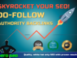 Skyrocket your SEO with 40+ Authority Do Follow Backlinks