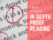 Proofread 1,000 words