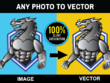 Convert any photo to vector