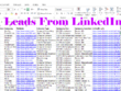 Generate 100 targeted leads through LinkedIn research