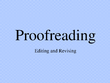 Professionally proofread & edit in less than 24 hours