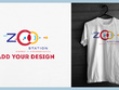 Add your Logo/Graphics on T Shirt