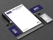 Design your professional business card and letterhead