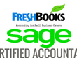 Manage your monthly bookkeeping using Quickbooks, Xero, Sage etc