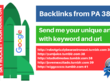 Skyroket your google ranking via tumblr backlinks from PA40 blog