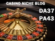Guest post on Casino niche DA37 blog
