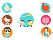 Design 5 conceptual, creative and unique icons