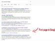 SEO Audit optimalisation for blog post/website or article
