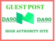 Write And Publish A Guest Post On Da 90 High Authority Site