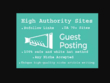 I will guest post on da 70+ high authority websites