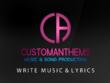 Produce professional music and lyrics, songwriter