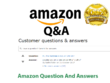 Post 20 Amazon Questions and Answers from Verified Accounts