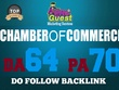 Guest post on CHAMBEROFCOMMERCE - ChamberOfCommerce.com DA64