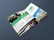 Design a three fold brochure