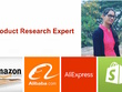 Amazon ,Shopify , Aliexpress, Alibaba, Ecommerc Product Research