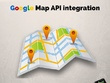 Integrate google map API into your laravel project.