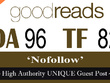"Write and publish UNIQUE Guest Post on ""GOODREADS"" DA-96"