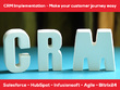 Setup your CRM system