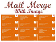 Create Mail merge Labels with image