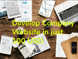 Develop your Company Website