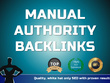 Explode your SEO Rankings with 50+ high DA Authority Backlinks