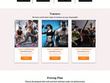 Design responsive PSD Website page ready for Development