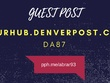 Guest post on yourhub.denverpost.com DA87 authority news site