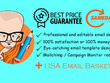 Design Responsive Email Template + 9 Million Active USA Leads