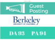 Publish a guest post on Berkeley - Berkeley.edu DA 93