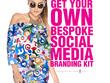 Design your Social Media Profile Artwork 4 Facebook + Instagram