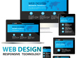 Make responsive website design & wordpress design with SEO