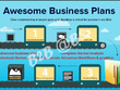 Make complete awesome professional business plan