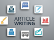 Write technical blog or article for you.