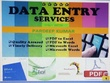 Do any kind of data entry jobs (MS Excel/Word/ PPT) for 2 hours.
