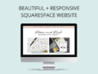 Design and build a beautiful 5 page Squarespace website