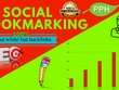 Make 35 Social bookmarking High Authority Top Backlinks