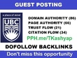 Canadian edu university blog (ubc.ca) Guest post on DA 86