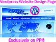 Design a responsive wordpress website page for you
