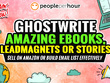 Write 5K Words of Amazing Ebook, Lead-magnets or Stories