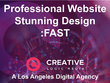 Create A Professional, Wordpress Site With Stunning Design: FAST