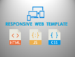 Design responsive front end web template