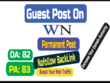 Write and publish  On Worldnews