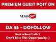 Publish Guest Post on Venis Don. Venisdon.com - DA 55