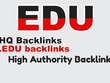 Provide 150 .EDU High Authority Backlinks Improve SEO Rank