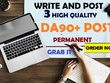 Guest post on 3 high (PA 90+ & DA 90+) sites with dofollow links