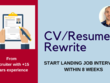 Powerful CV  (includes strategy consultation by phone)