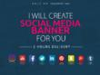 **2 HOURS DELIVERY** design Social Banner